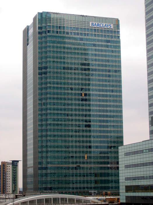 Barclays: British multinational banking and financial services company