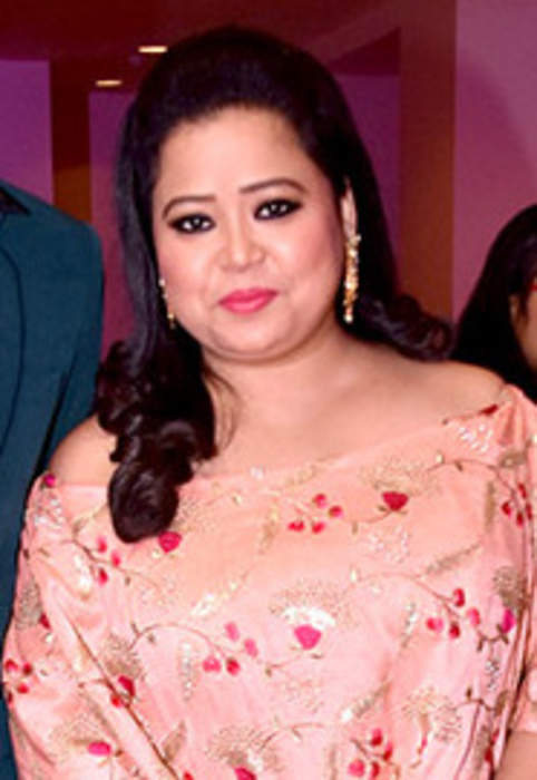 Bharti Singh: Indian stage comedian and host