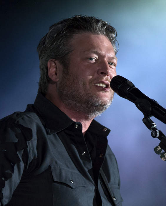 Blake Shelton: American country music singer and television personality
