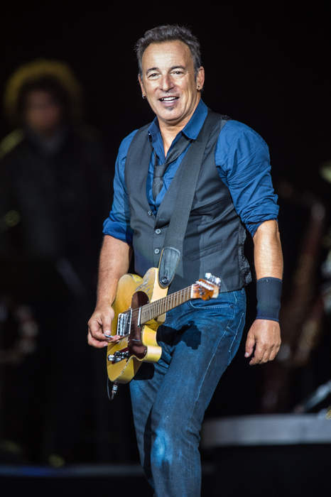 Bruce Springsteen: American singer, songwriter, and musician