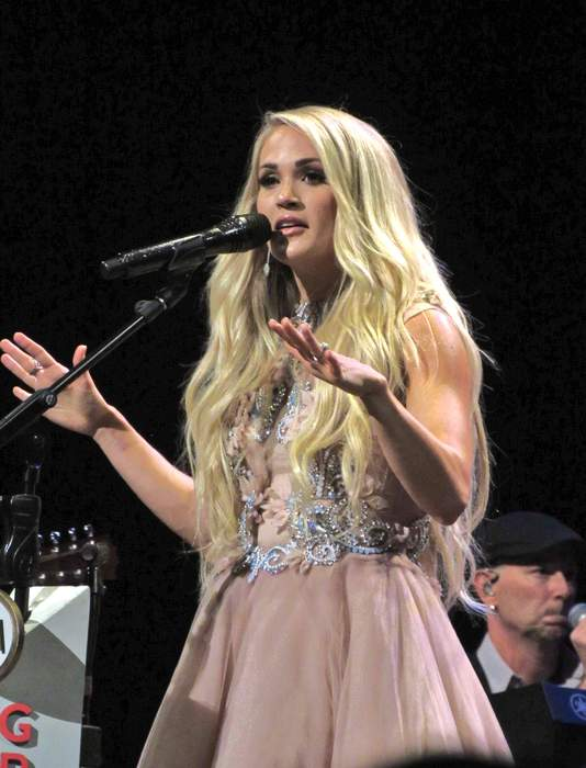 Carrie Underwood: American country music singer