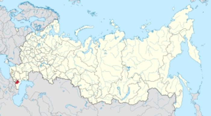 Chechnya: First-level administrative division of Russia