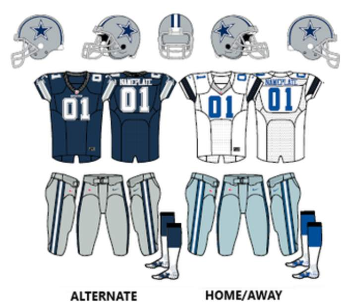 Dallas Cowboys: National Football League franchise in Arlington, Texas