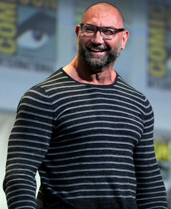Dave Bautista: American actor and professional wrestler