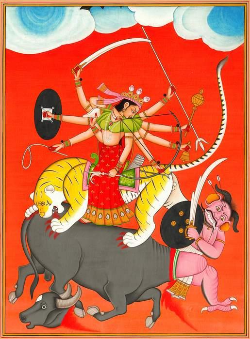 Durga: Hindu warrior goddess