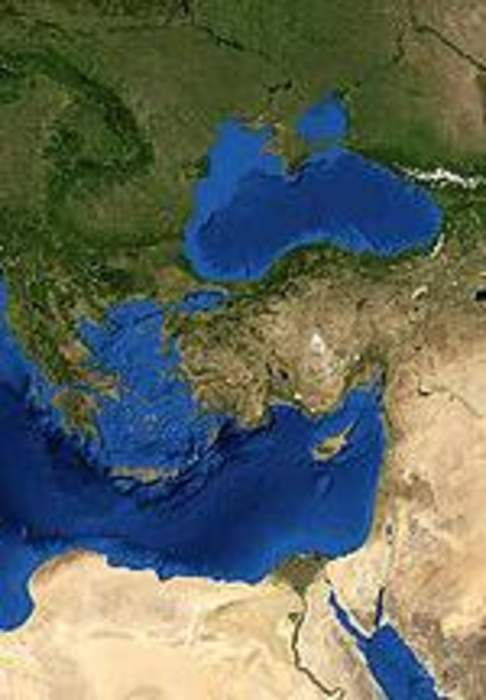 Eastern Mediterranean: Countries that are geographically located to the east of the Mediterranean Sea