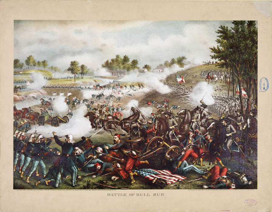 First Battle of Bull Run: First major land battle of the American Civil War