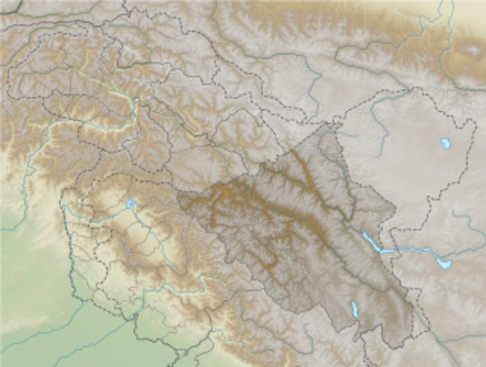 Galwan River: