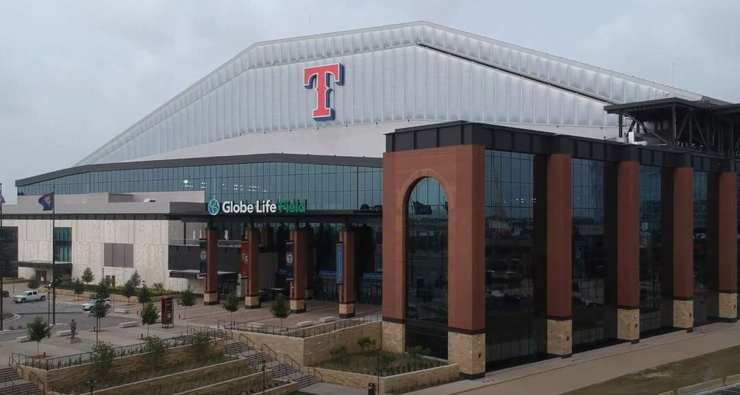 Globe Life Field: Baseball park in Arlington, Texas