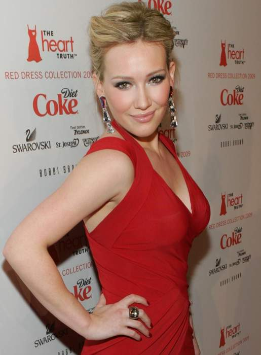 Hilary Duff: American actress and singer