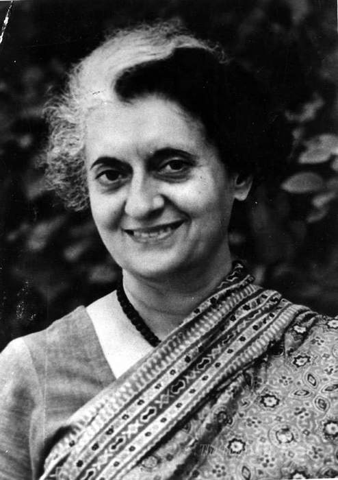Indira Gandhi: 3rd and first female Prime Minister of India