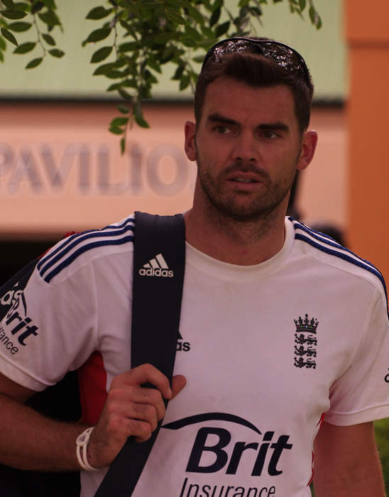 James Anderson (cricketer): English cricketer