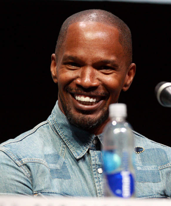 Jamie Foxx: American actor, comedian, singer, presenter, and producer from Texas