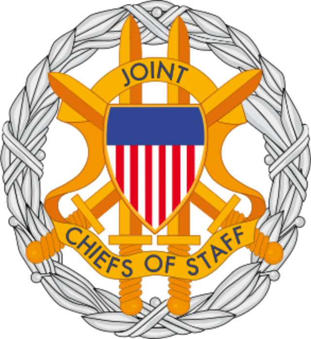 Joint Chiefs of Staff: Body of senior uniformed leaders in the U. S. Department of Defense which advises the President on military matters