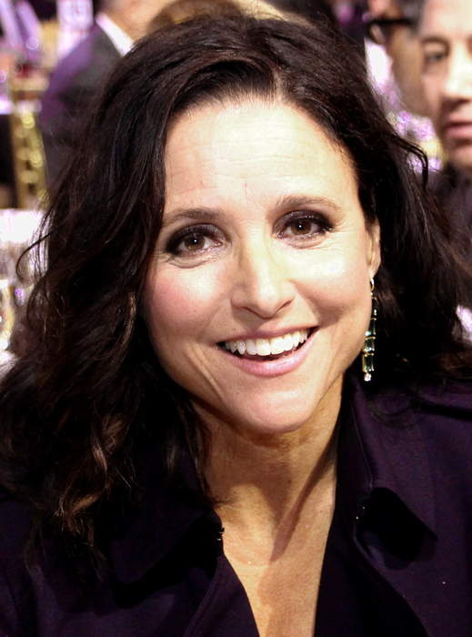 Julia Louis-Dreyfus: American actress, comedian, producer, and singer
