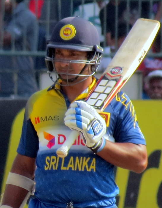 Kumar Sangakkara: Sri Lankan cricketer