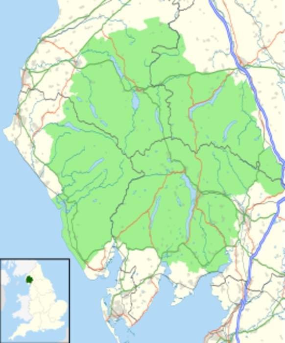 Lake District: Mountainous region in North West England