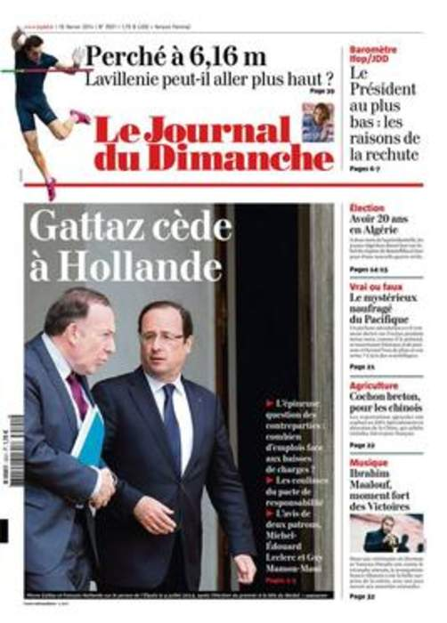 Le Journal du Dimanche: French weekly newspaper