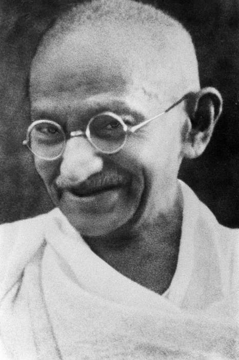 Mahatma Gandhi: Leader of the campaign for India's independence from British rule