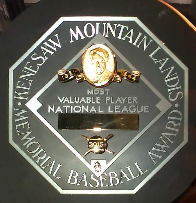 Major League Baseball Most Valuable Player Award: