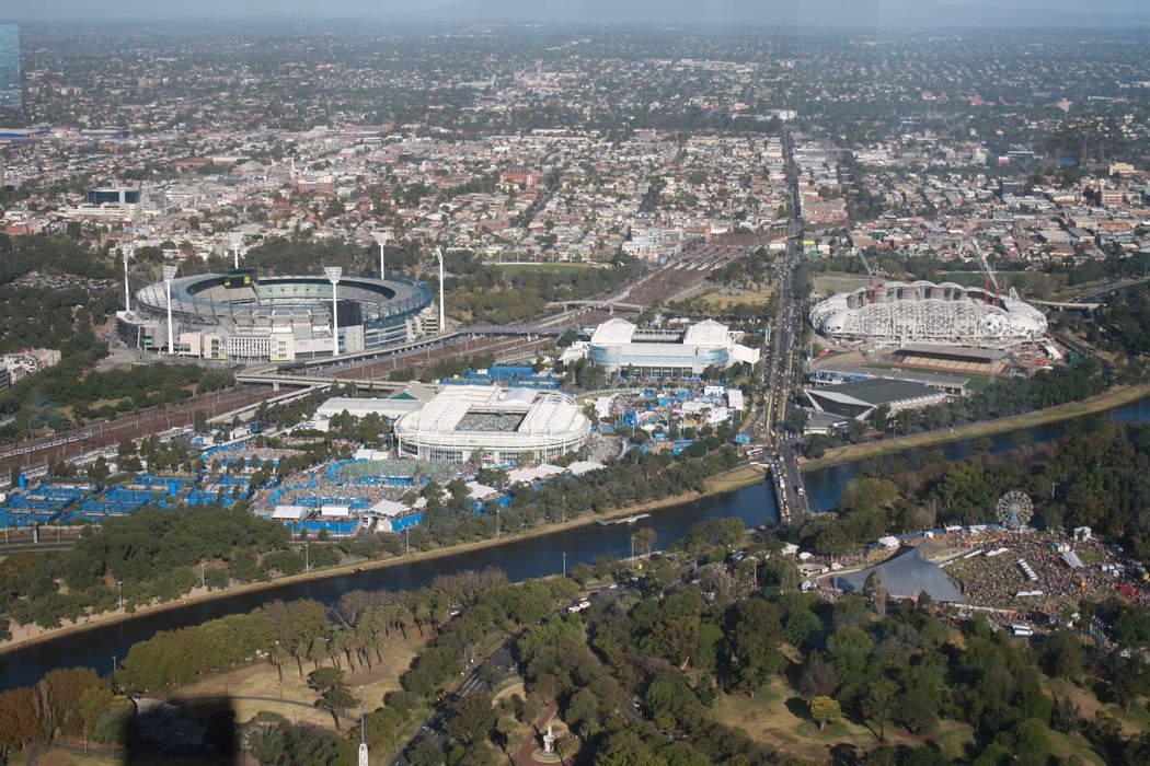 Melbourne Park: Sporting complex in Melbourne, Victoria, Australia