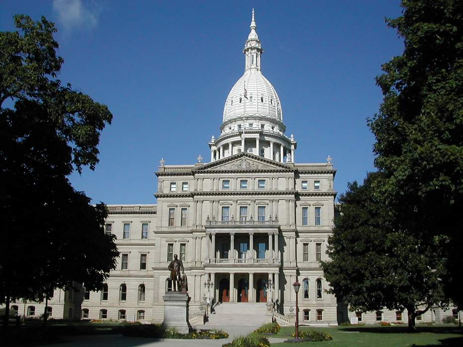 Michigan State Capitol: The building that houses the legislative branch of the government of the U.S. state of Michigan