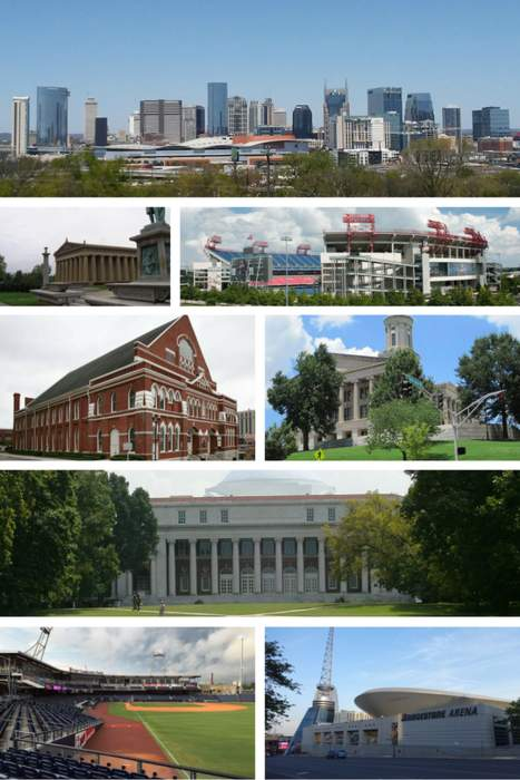 Nashville, Tennessee: State capital and consolidated city-county in Tennessee, United States