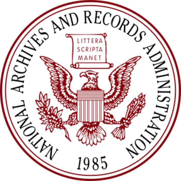 National Archives and Records Administration: Independent agency of the United States government which preserves and provides access to federal records