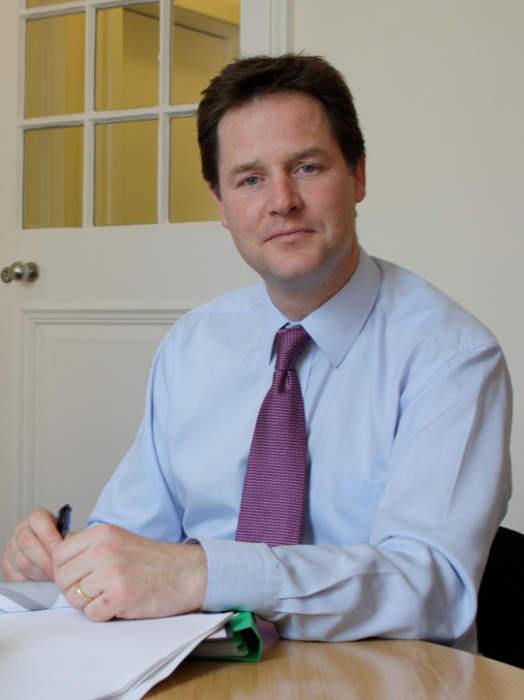 Nick Clegg: Deputy Prime Minister of the United Kingdom (2010-2015)