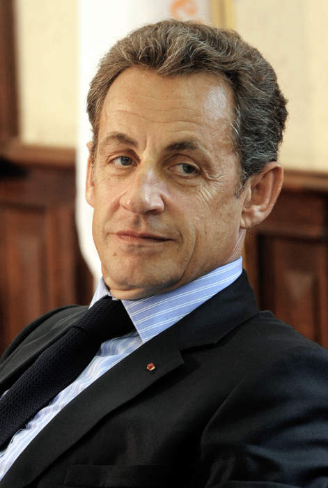 Nicolas Sarkozy: 23rd president of the French Republic
