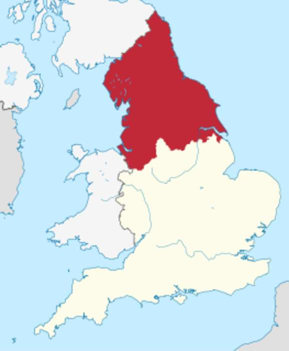 Northern England: The northern part of England