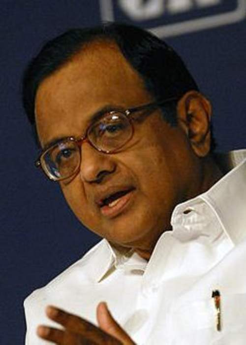 P. Chidambaram: Indian politician