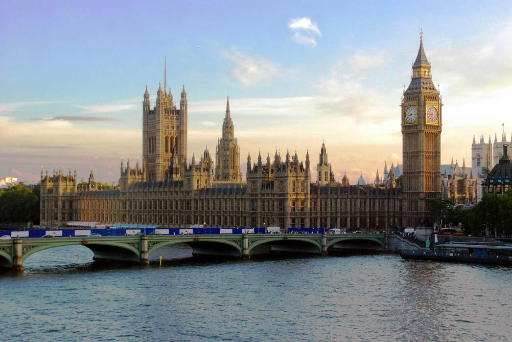 Palace of Westminster: Meeting place of the Parliament of the United Kingdom