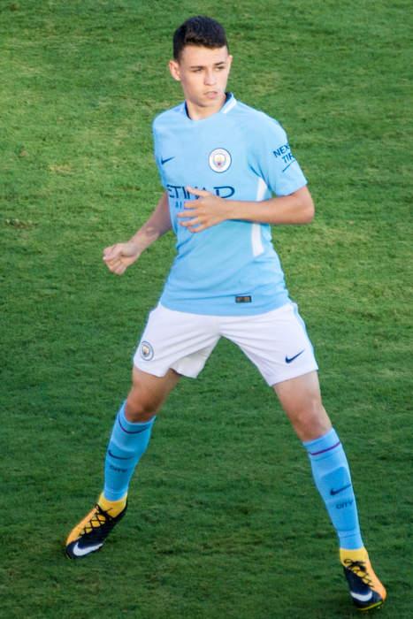 Phil Foden: English association football player