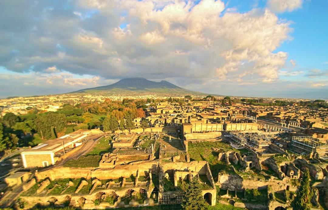 Pompeii: Ancient Roman city near modern Naples, Italy