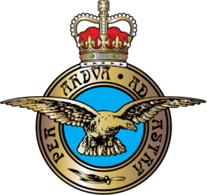 Royal Air Force: Aerial warfare service branch of the British Armed Forces