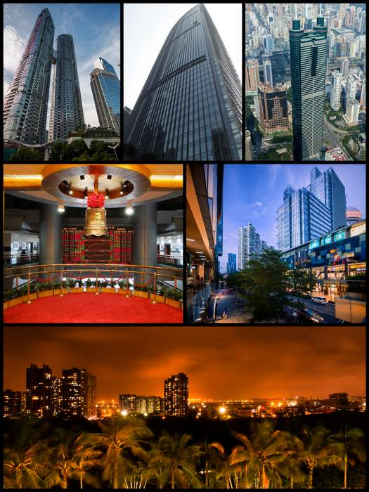 Shenzhen: Prefecture-level and sub-provincial city in Guangdong, China