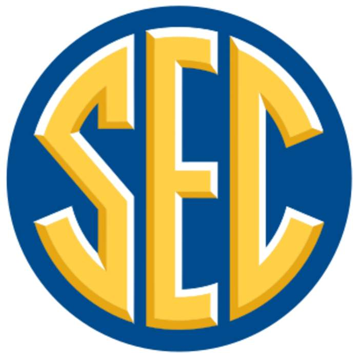 Southeastern Conference: Collegiate athletics conference operating primarily in the southeastern United States