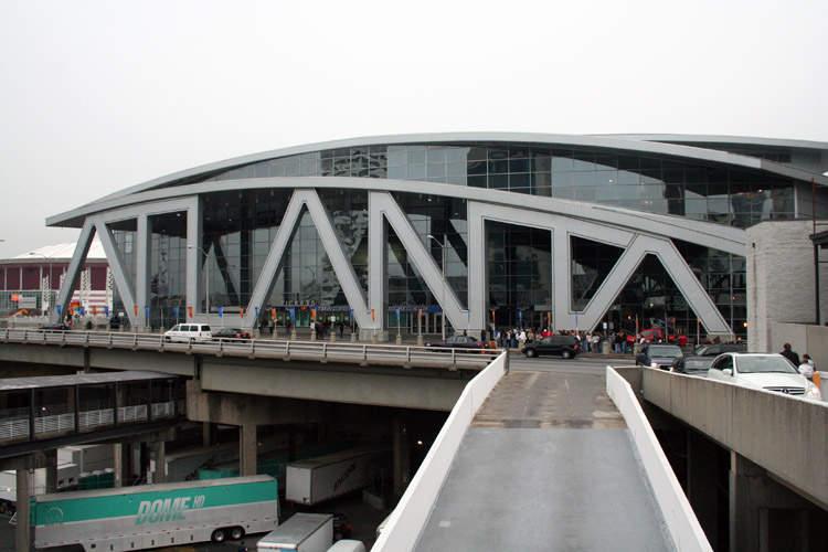 State Farm Arena: Arena located in Atlanta, Georgia
