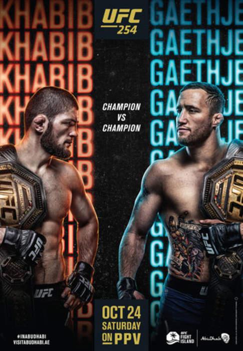UFC 254: UFC mixed martial arts event in 2020