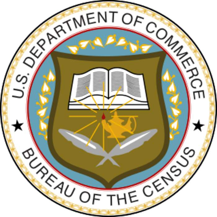 United States Census Bureau: Bureau of the United States responsible for the census and related statistics